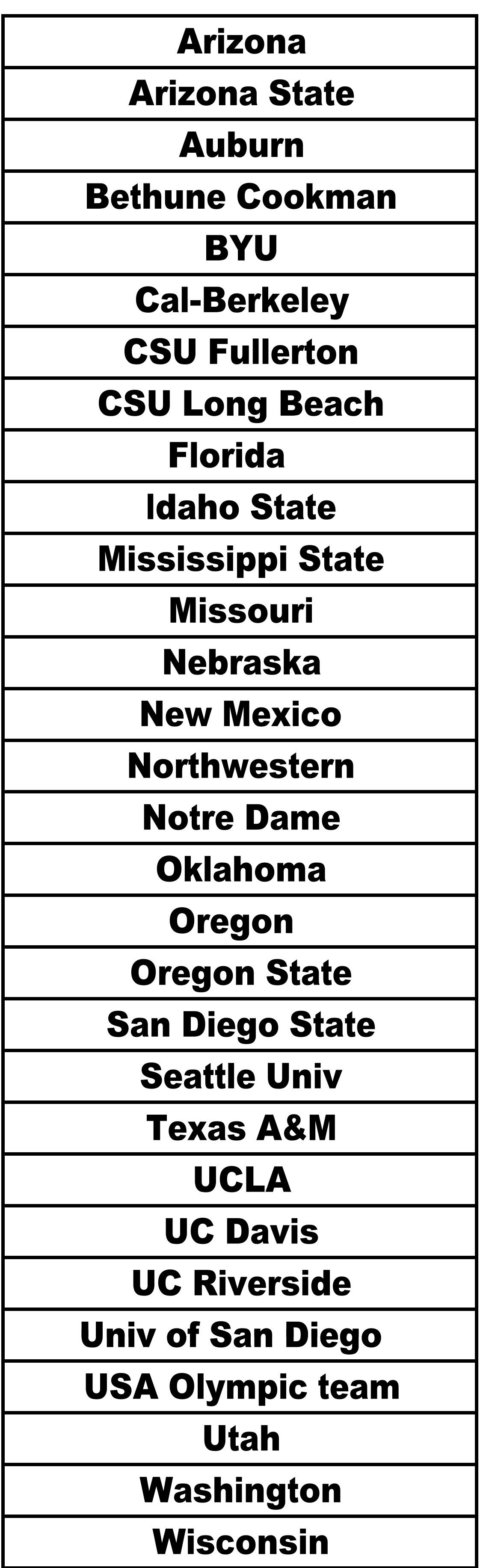 graphic relating to Printable Olympic Tv Schedule referred to as Mary Nutter Collegiate Clic